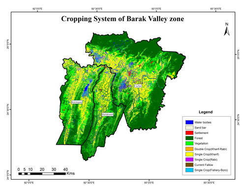 Cropping System of Barak Valley Zone